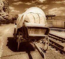 Conastoga Wagon by James Brotherton