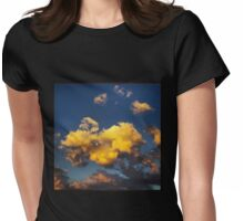 Turtle Cloud Womens Fitted T-Shirt