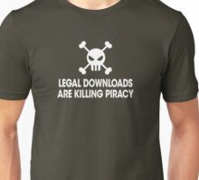 Legal downloads Unisex T-Shirt
