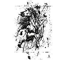 Horse Drip painting Photographic Print