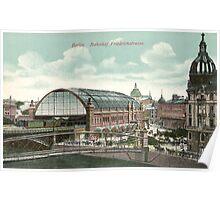 Berlin Bahnhof Friedrichstrasse Poster