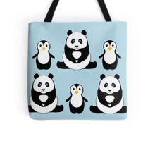 PANDAS & PENGUINS Tote Bag