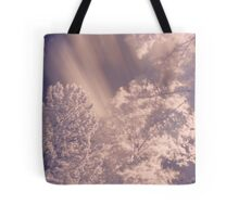 Infrared Trees Tote Bag