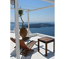 Aegean Lifestyle Photographic Print