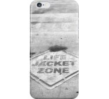 Life Jacket Zone iPhone Case/Skin