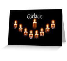 celebrate hanukkah!!!!! Greeting Card