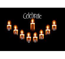 celebrate hanukkah!!!!! Photographic Print