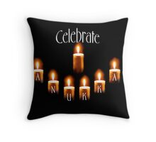 celebrate hanukkah!!!!! Throw Pillow