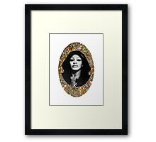 All That Glitters is Tina Framed Print