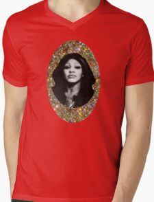 All That Glitters is Tina Mens V-Neck T-Shirt