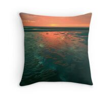 ...ripple sun....... Throw Pillow