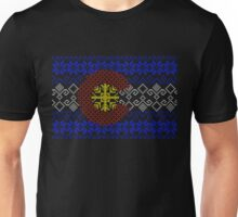 Sweater Pattern Colorado Flag Unisex T-Shirt