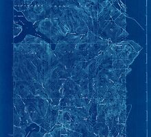 Maine USGS Historical Map Stockholm 807692 1927 48000 Inversion by wetdryvac