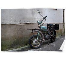Italian Moped Poster