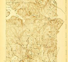 Maine USGS Historical Map Stockholm 807692 1927 48000 by wetdryvac