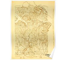 Maine USGS Historical Map Stockholm 807692 1927 48000 Poster