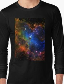 Galaxy Eagle Long Sleeve T-Shirt