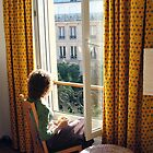 View from Paris Apartment   by kkmarais