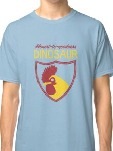Honest-To-Goodness Dinosaur: Rooster (on dark background) Classic T-Shirt