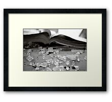 Signs of age 4 Framed Print