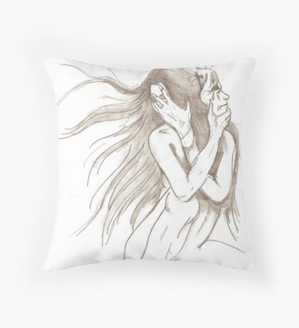 Disguiseher Throw Pillow