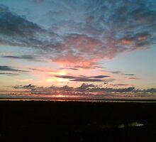 setting sun by jobarton