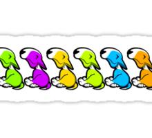 EBT Colour Row  Sticker