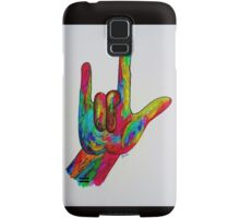 I LOVE YOU - American Sign Language Samsung Galaxy Case/Skin