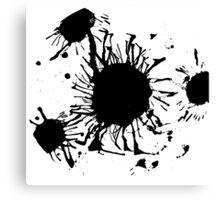 Ink Drip Canvas Print