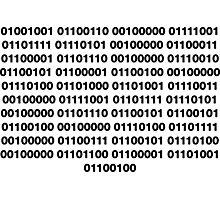 Binary – Get Laid Photographic Print