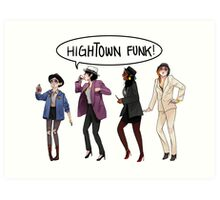 Dragon Age 2 - Hightown Funk Ladies Version Art Print