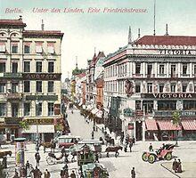 """Berlin """"Unter den Linden"""" at the corner  """"Friedrichstrasse"""" by Klaus Offermann"""