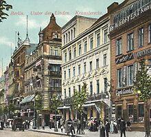 """Berlin """"Unter den Linden"""" and """"Kranzlerecke"""" by Klaus Offermann"""