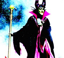 Malificent...Evil Queen by mekea