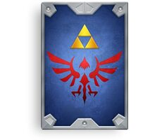 A Link Between Worlds Hylian Shield Canvas Print