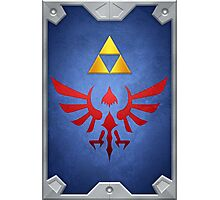 A Link Between Worlds Hylian Shield Photographic Print