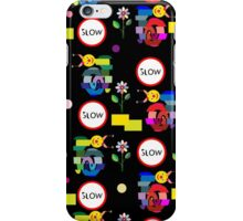 Funny snails mosaic pattern iPhone Case/Skin