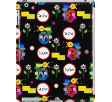 Funny snails mosaic pattern iPad Case/Skin
