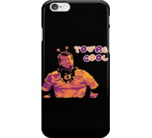 Whoosh Says You're Cool! iPhone Case/Skin
