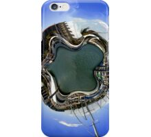 Warped harbour world iPhone Case/Skin