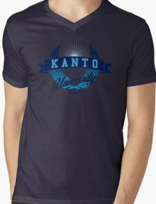 Kanto Region University Mens V-Neck T-Shirt