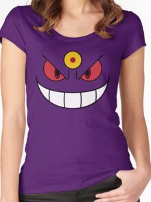 Mega Gengar Women's Fitted Scoop T-Shirt