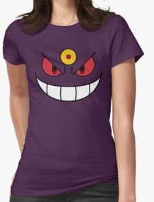 Mega Gengar Womens Fitted T-Shirt