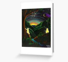 Forest Majick-08 Greeting Card