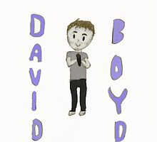 David Boyd Drawing! by scruffy1b