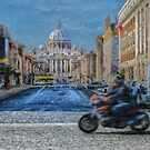 Rome intersection by Murray Swift