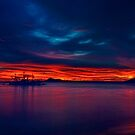 Sunset Panoramic by Steve Baird