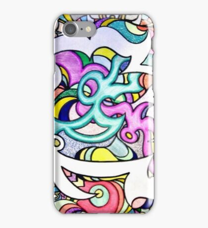 relentless persuit of abstract creation iPhone Case/Skin
