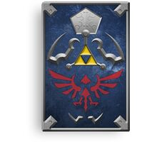 Twilight Princess Hylian Shield Canvas Print
