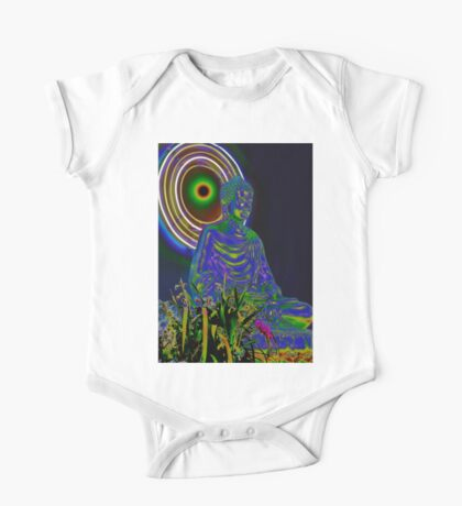 Psychedelic Buddha One Piece - Short Sleeve